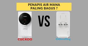 8 Perbezaan Cuckoo, Coway Serta Penapis Air Lain
